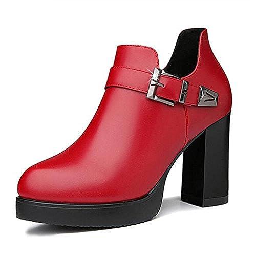 14a64e0d Koyi Zapatos De Tacón Alto Para Primavera Nuevos Zapatos De Tacón Grueso  Zapatos De Moda Coreano