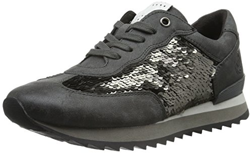 Baskets Marco Gris Tozzi Antic Femme 23702 Com Basses Grey 202 aAArE