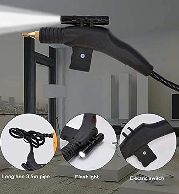 Danning Limpiadora a Vapor Máquina de Limpieza a Alta presión para limpiadores de Vapor domésticos industriales con 4 boquillas: Amazon.es: Hogar