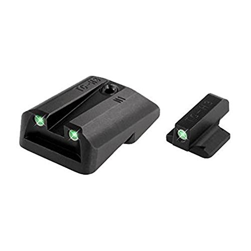 TRUGLO Tritium Handgun Glow-in-The-Dark Night Sights for 1911 Pistols, 260 Front / 450 Rear