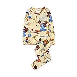 Books to Bed Kids' Long Sleeve Printed Pajama Set