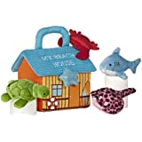 Amazon Com Ebba My First Pet Carrier Plush Animals With