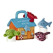 Aurora World Baby Talk My Beach House Carrier 8  Plush