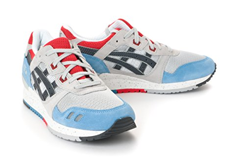 separation shoes 30a22 35f0a Asics Gel-Lyte III Running Casual Shoes H425N-1016 SOFT GREY ...