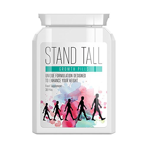 STAND TALL Growth Pills - GET Taller GAIN Height GET Tall Height Enhancing Pill (Best Height Increase Supplement)