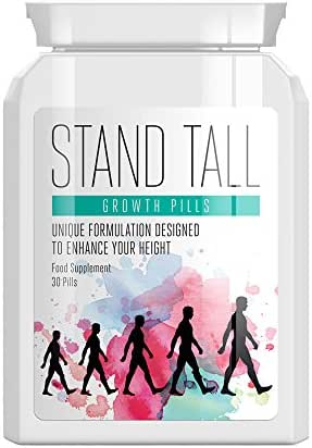 STAND TALL Growth Pills – GET Taller GAIN Height GET Tall Height Enhancing Pill