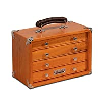 Gerstner International GI-T12 Red Oak 4-Drawer Chest