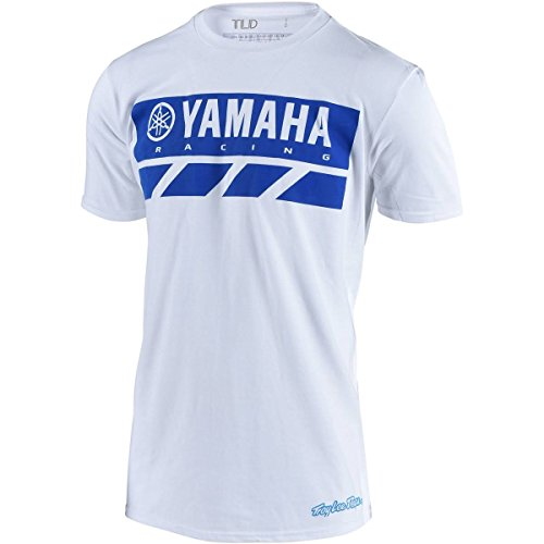 Used,  Troy Lee Designs Men's TLD Yamaha RS2 Shirts,Large,White for sale  Delivered anywhere in USA