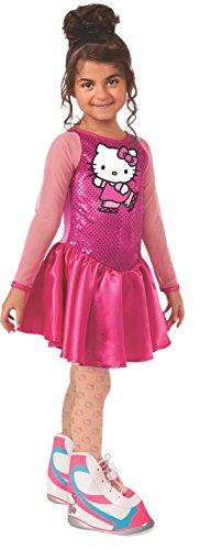 In Girl Figure Stick Costume (Hello Kitty Figure Skater Costume, Child)