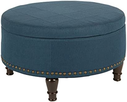 OSP Home Furnishings Storage Ottoman
