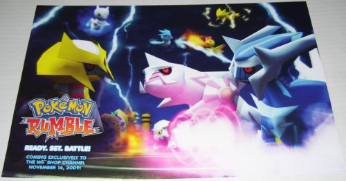 Pokemon Rumble Poster Giratina Dialga and Palkia Poster (Pokemon Rumble Best Pokemon)
