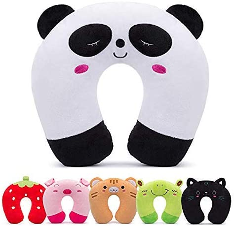 Panda Kids Travel Pillow Neck Rest In Car And Airplane Keel Toys For Children