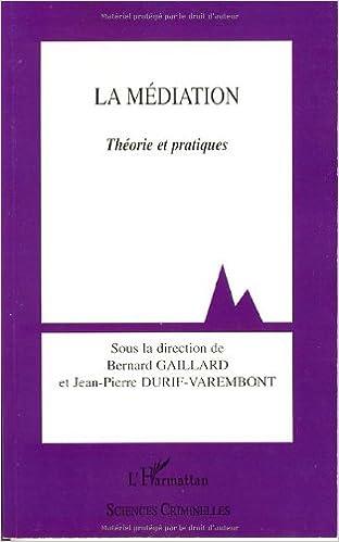 Téléchargement La Médiation : Théories et pratiques epub, pdf