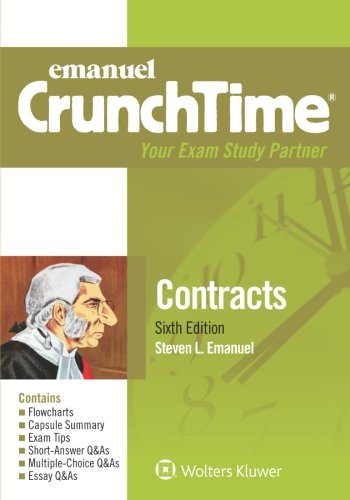 Emanuel CrunchTime: Contracts cover