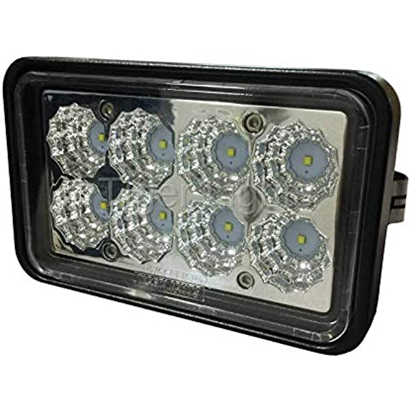 Skid Steer LED Front Roof Light Part WN-86533428 2500 Lumens on New Holland Case