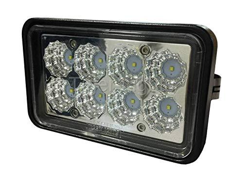 (Skid Steer Headlight w/Clip #TL750 - Fits Case John Deere & Ford New Holland!)