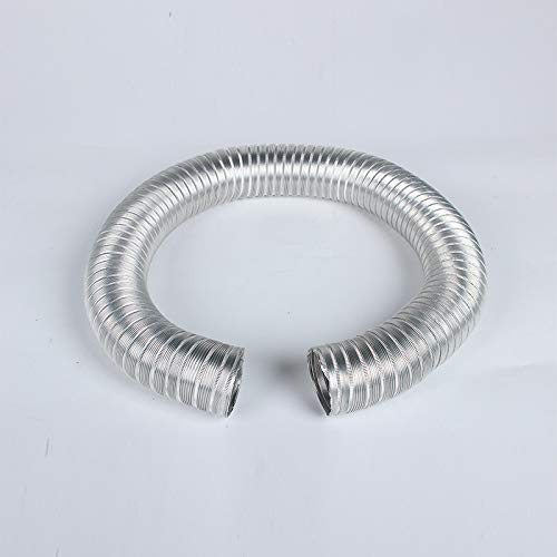- Factory direct gas water heater exhaust tube boiler aluminum telescopic tube corrugated foil vent tube