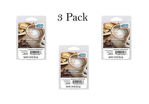 Hazelnut Cream Wax Cubes Mainstays Pack of 3