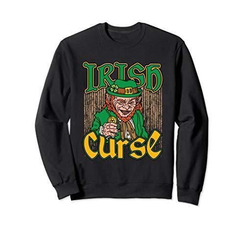 Leprechaun Sweatshirt Horror Irish Curse St Patricks Day]()