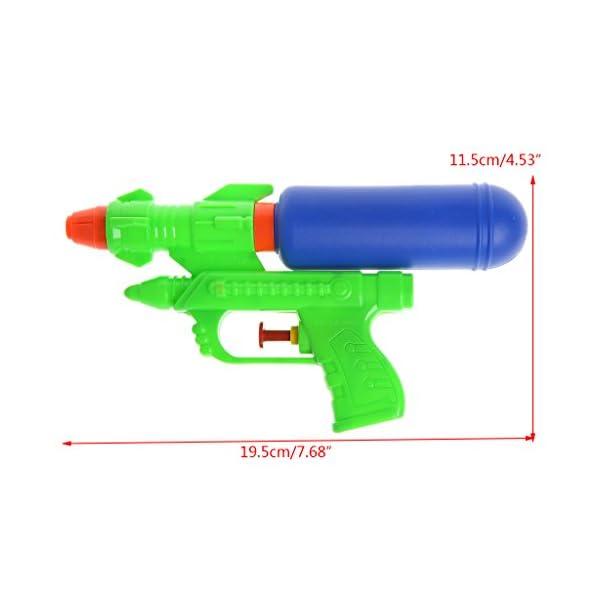 Youliy, pistola ad acqua per bambini, pistola ad acqua, giocattolo per la spiaggia per bambini, pistola a spruzzo per l… 4 spesavip
