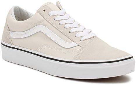 Vans Beige Suede Old Skool Sneakers-UK