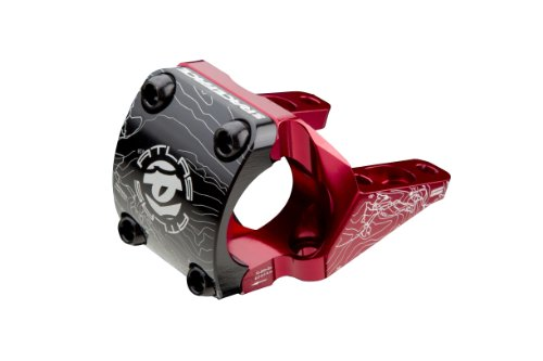 Race Face Atlas Direct Mount Mountain Bike Stem (Red, 31.8-mm Clamp, Direct Mount, 50/30-mm Length) - Direct Mount Stem