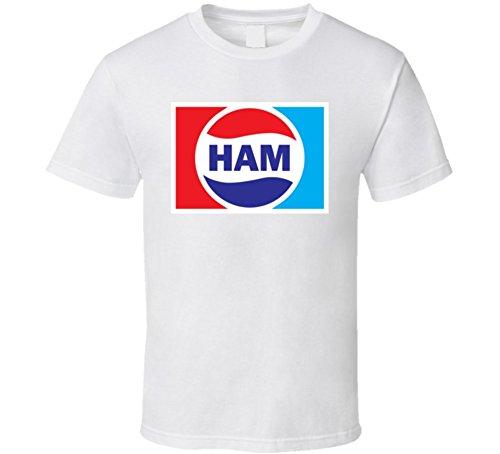 (Ham Lover Cola Parody Gift T Shirt M White)
