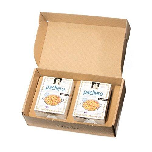 Paellero Paella Seasoning Gift Box (30 Packets) Carmencita Paella Mix Saffron Gluten Free by Carmencita