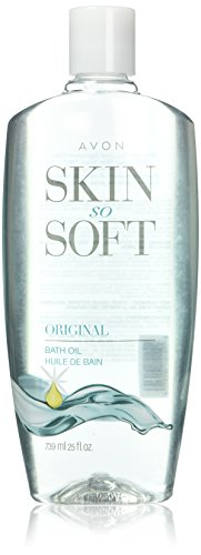 Lot of 2 Avon Skin So Soft SSS Original Bath Oil 16.9 oz ea New & Sealed!