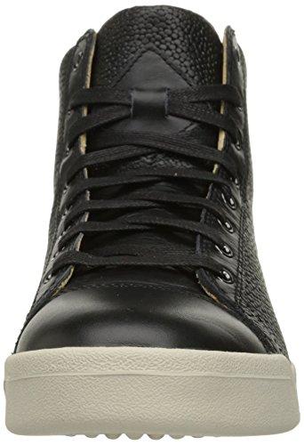 Diesel Hombres Tempus Diamond Fashion Sneaker Black