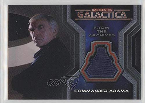 Lorne Greene; Commander Adama (Trading Card) 2004 Rittenhouse The Complete Battlestar Galactica - From The Archives Costumes #CC3