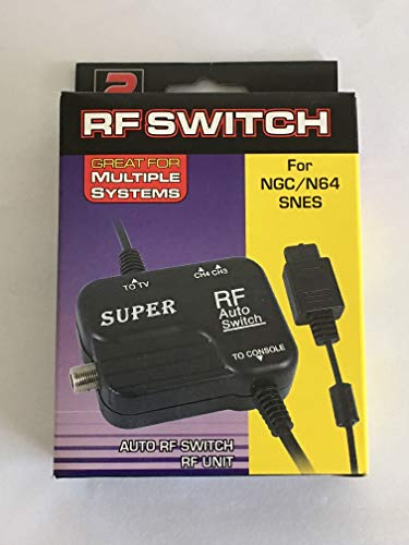 NEW RF TV Adapter for the Super Nintendo, Nintendo 64 or Gamecube (SNES) (N64) - TBGS