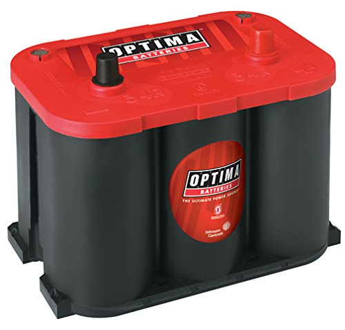 Optima Batteries 8003-151 Sealed Gel Battery - group 34R Red