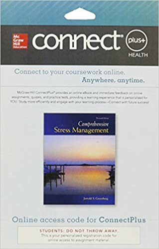 Connect access card for comprehensive stress management jerrold connect access card for comprehensive stress management 13th edition fandeluxe Image collections