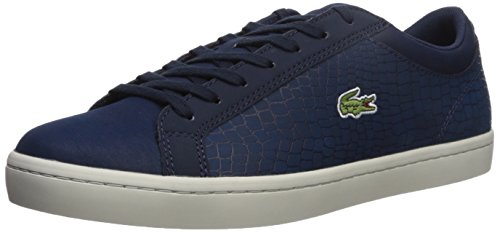 Lacoste Men's Straightset Navy 1 Sneaker 417 Sp FpFTwAqr