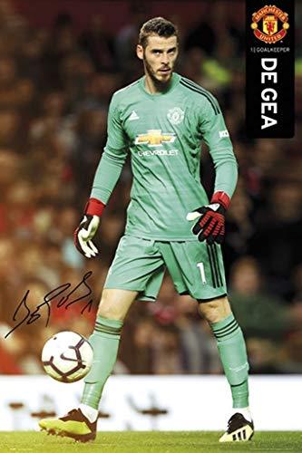 Manchester United - David De Gea 2018-19 Poster (24 x 36 inches)