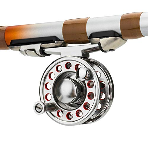 4000-6000 Series Fly Fishing Reel Metal Fish Line Wheel for Fly Fishing 2Bb+1Rb Left/Right Hand Super Hard Ultralight Lure Reel,Gold,3000 Series