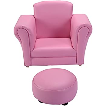 Incroyable Costzon Kids Chair And Ottoman Set With Rocking Function (pink)