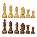 Classic Wooden Chess Pieces 3.75 - Sheesham