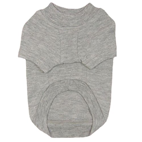 Waistcoat Colour (Dog T-shirt, AutumnFall(TM) 2015 Spring Summer Puppy Pet Dog Leisure Waistcoat, Vest, Shirt, Jacket Clothes Pure Color (XXL, F))