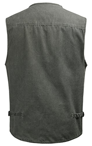 Mright Mens Pockets Jacket Outdoors Travels Sports Vest Tops