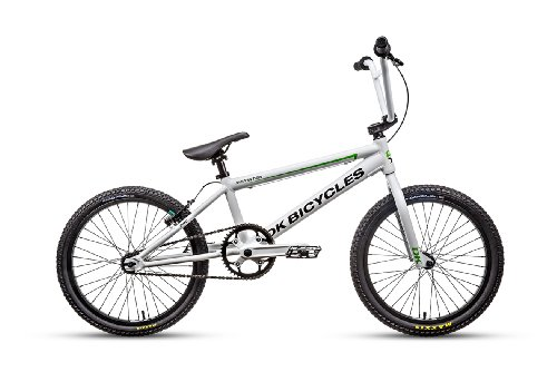 DK Bicycle 2014 Sprinter Pro BMX Bike, Satin White, 20-Inch