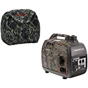 Honda EU2000i Quiet 2000W Realtree Generator with Inverter, Camo Storage Cover