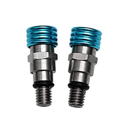 V/álvula de purga de presi/ón de aire de motocross utilizada en las horquillas invertidas Kayaba y Showa con tornillos de purga de aire M5x0.8 en la tapa de la horquilla