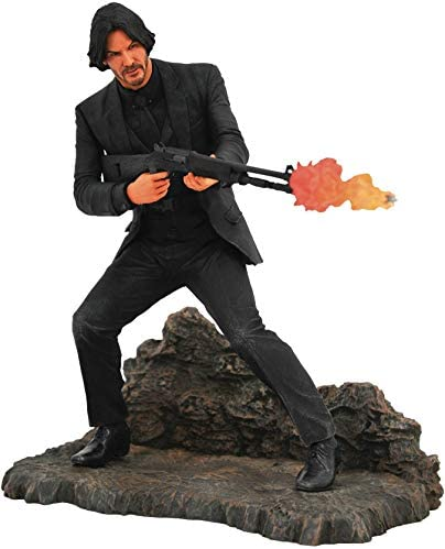 DIAMOND SELECT TOYS John Wick Gallery Catacombs PVC Figure, Multicolor