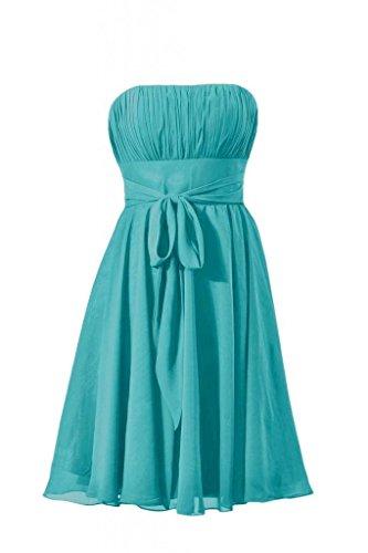 Dress Party Dress BM856 Dress line 44 Bridesmaid Cocktail Short A Prom cyan DaisyFormals xaz4A0wq