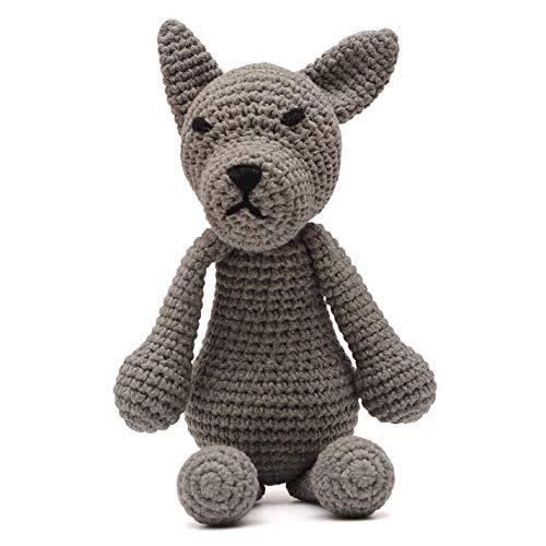crochet bulldog - 7