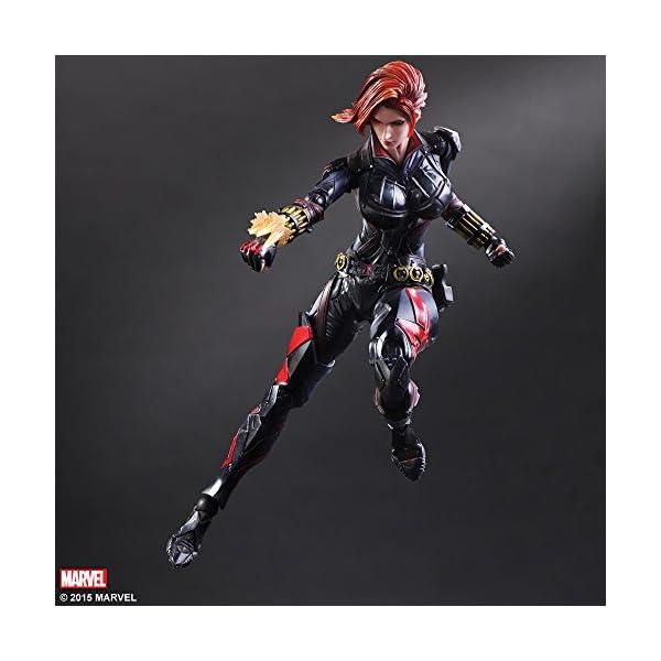 419cbs24JdL Marvel Comics Variant - Black Widow Play Arts Kai - 26cm