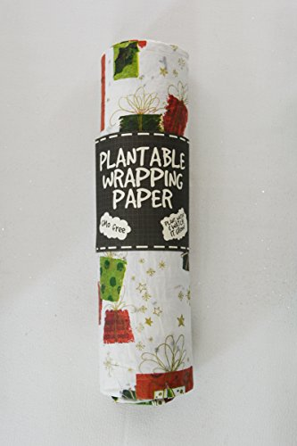 Plantable Wrapping Paper Set of 2 (Gifts) (Wrapping Plantable Paper)