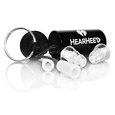 Best Ear Plugs Noise Reduction - High Fidelity Concert Music Hearing Protection Earplugs - Reusable Soft Silicone Travel Noise Cancelling Ear Plugs for Sleeping Snoring - Construction Safety Ear Plugs